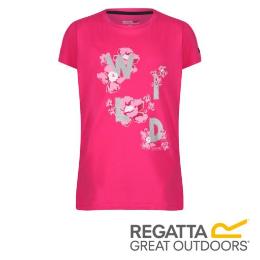 Regatta Kid's Bosley II Adventure Graphic Print T-Shirt – Cabaret