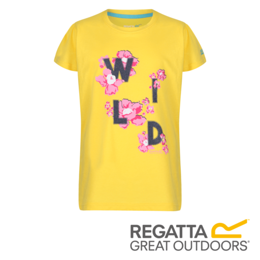 Regatta Kid's Bosley II Adventure Graphic Print T-Shirt – Sunbeam
