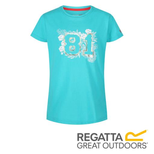 Regatta Kid's Bosley II Adventure Graphic Print T-Shirt – Ceramic