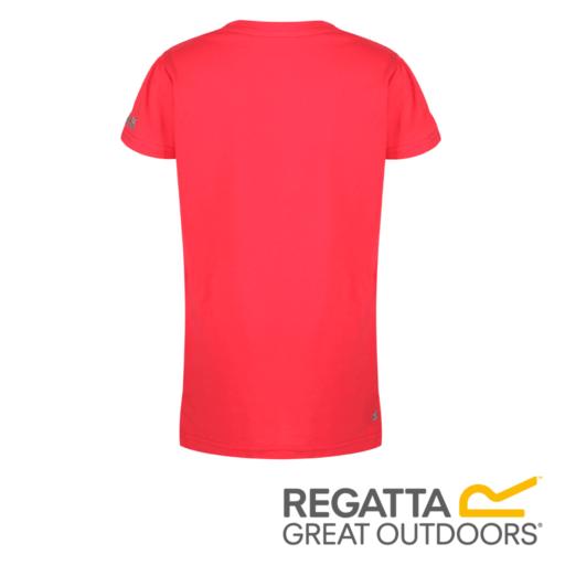 Regatta Kid's Bosley II Adventure Graphic Print T-Shirt – Coral Blush