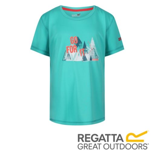 Regatta Kid's Alvardo IV Graphic Print T-Shirt – Cermaic