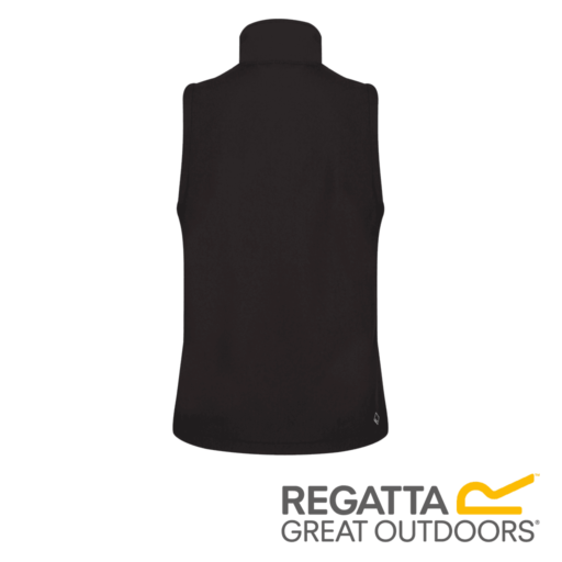Regatta Women's Lilou III Wind Resistant Softshell Gilet – Black