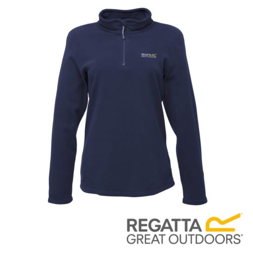 Regatta Women's Sweethart Lightweight Half-Zip Fleece – Navy