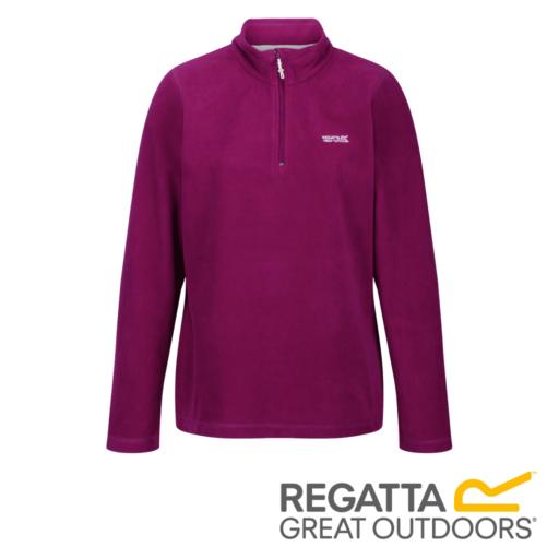 Regatta Women's Sweethart Lightweight Half-Zip Fleece – Dark Cerise