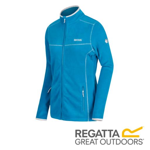 Regatta Women's Floreo II Mid Weight Full Zip Fleece – Blue Reef