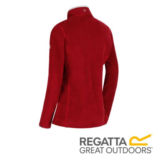 Regatta Women's Floreo II Mid Weight Full Zip Fleece – Tibetan Red