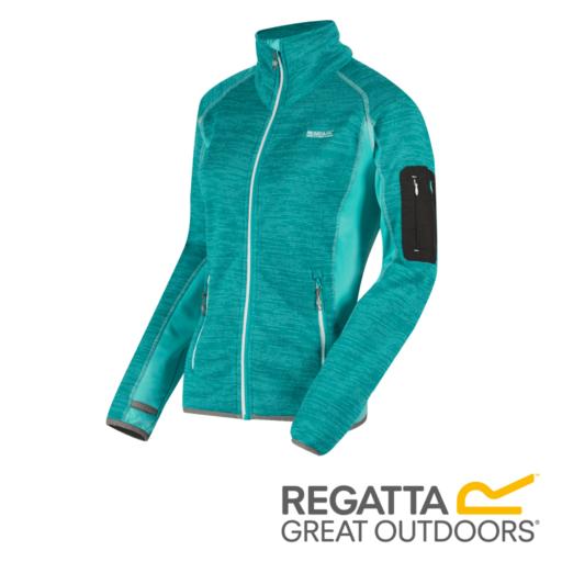 Regatta Women's Laney II Fleece – Aqua / Horizon