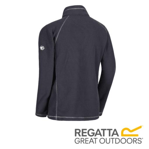 Regatta Women's Kenger Half-Zip Mid Weight Honeycomb Fleece – Seal Grey