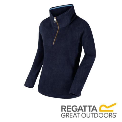 Regatta Women's Solenne Zip Stripe Fleece – Navy