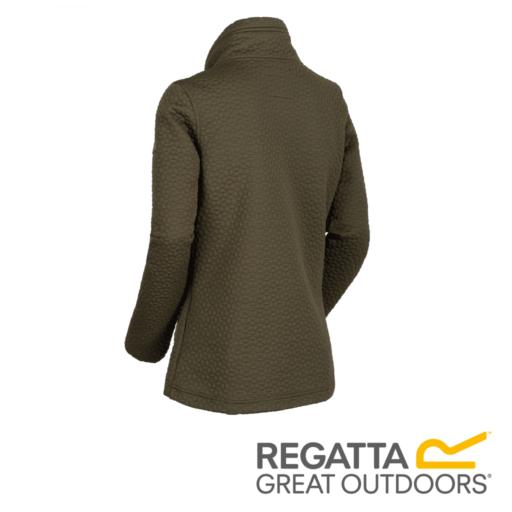 Regatta Women's Subira Full Zip Heavyweight Fleece – Grape Leaf
