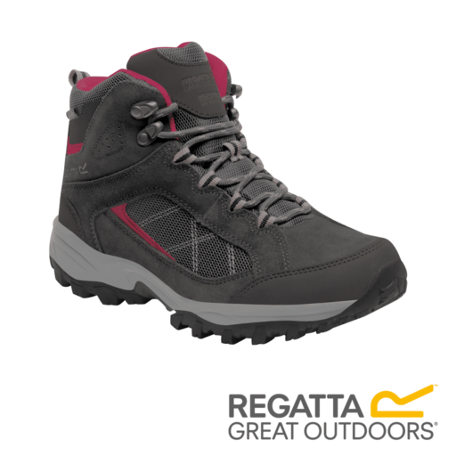 Regatta Women's Clydebank Mid Hiking Boots – Briar / Dark Cerise