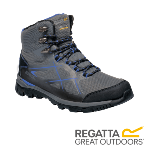 Regatta Women's Kota Mid Walking Boots – Granite / Blueberry