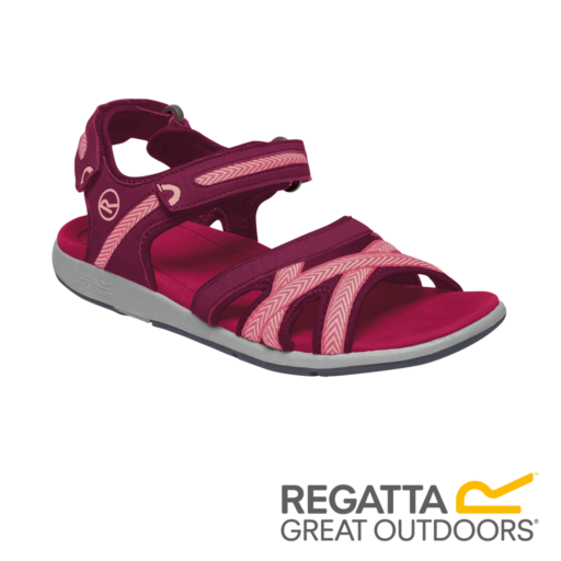 Regatta Women's Santa Clara Sandals – Beetroot / Mellow Rose