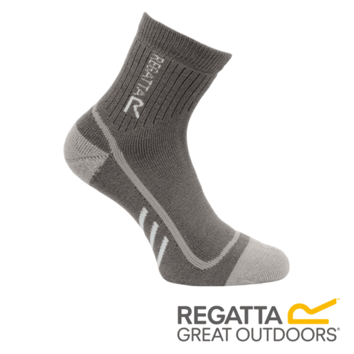 Regatta Women's 3 Season Heavyweight Trek & Trail Socks – Granite / Yucca