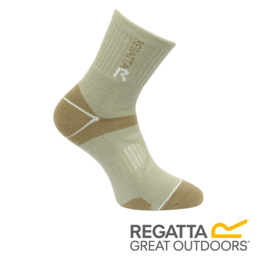 Regatta Women's Two Layer Blister Protection Socks – Seagrass / Yucca