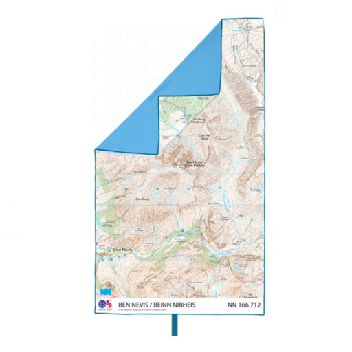 Lifeventure SoftFibre OS Map Towel – Giant – Ben Nevis