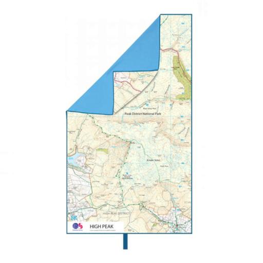 Lifeventure SoftFibre OS Map Towel – Giant – High Peak