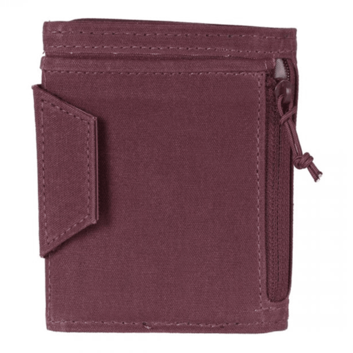 Lifeventure RFID Protected Wallet – Aubergine Waxed Canvas