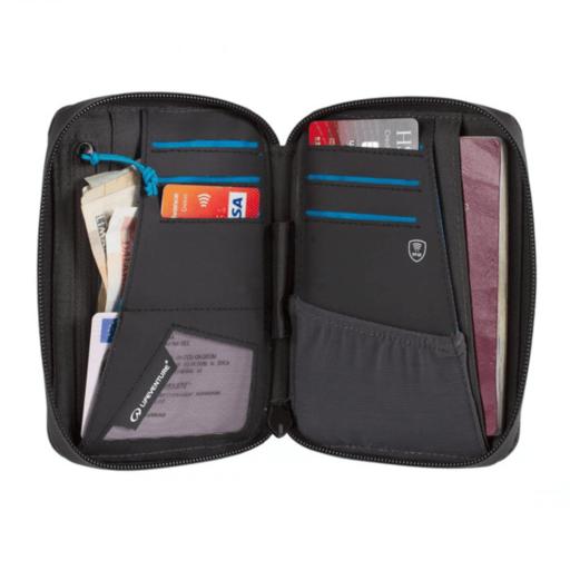 Lifeventure RFID Protected Mini Document Wallet