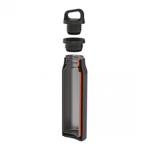 Lifeventure TiV Vacuum Bottle – Black