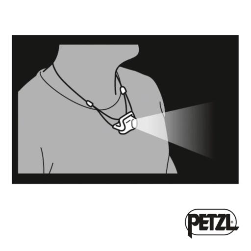 Petzl Bindi 200 Lumens Black