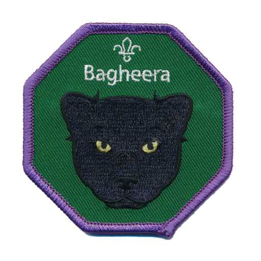 Cubs Bagheera Fun Badge