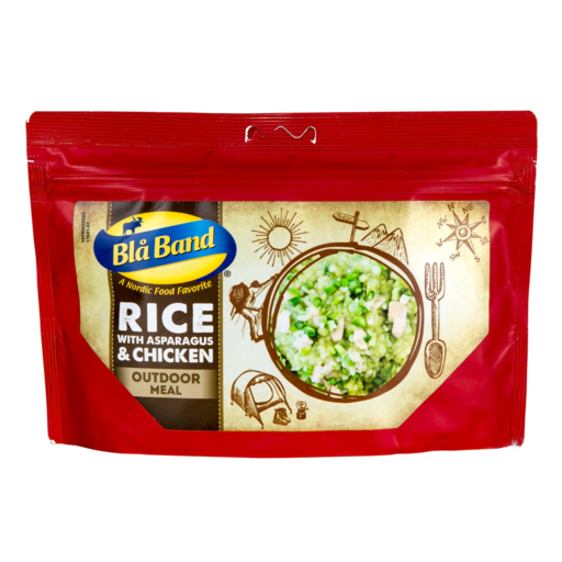 Bla Band Rice with Asparagus and Chicken