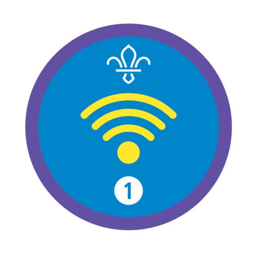 Digital Citizen Stage 1 Staged Activity Badge