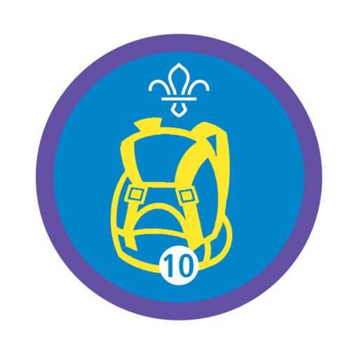 Hikes Away Stage 10 Staged Activity Badge