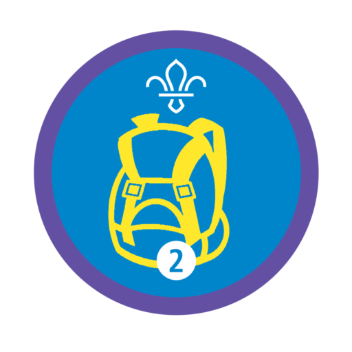 Hikes Away Stage 2 Staged Activity Badge