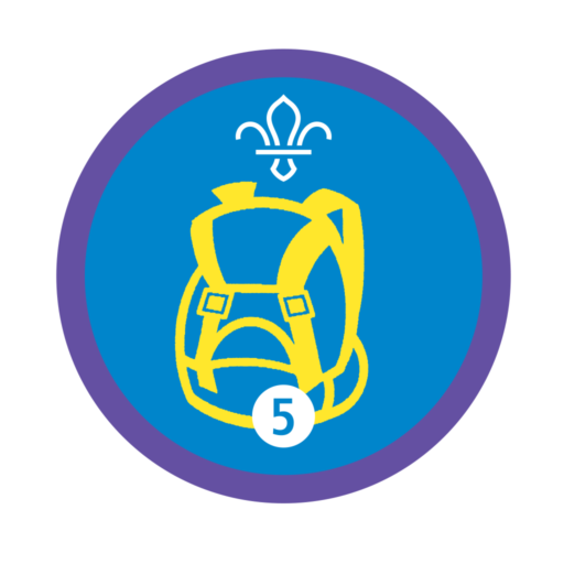 Hikes Away Stage 5 Staged Activity Badge