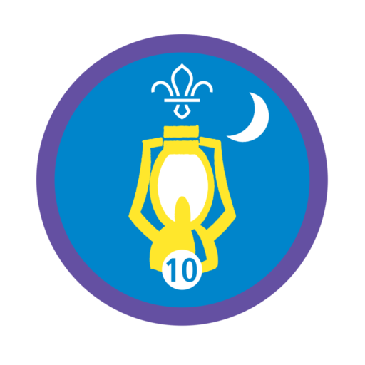 Nights Away Stage 10 Staged Activity Badge