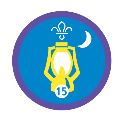 Nights Away Stage 15 Staged Activity Badge