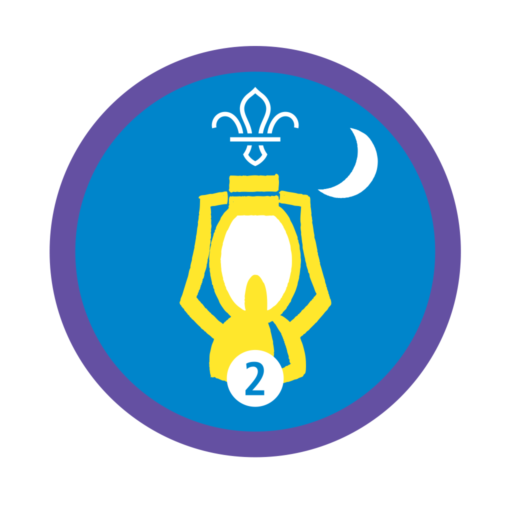 Nights Away Stage 2 Staged Activity Badge