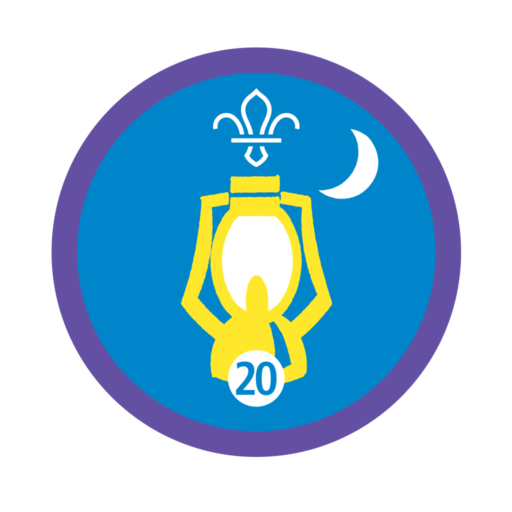 Nights Away Stage 20 Staged Activity Badge