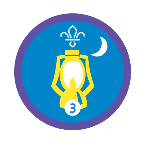 Nights Away Stage 3 Staged Activity Badge