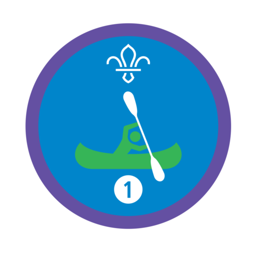 Time on the Water Stage 1 Staged Activity Badge