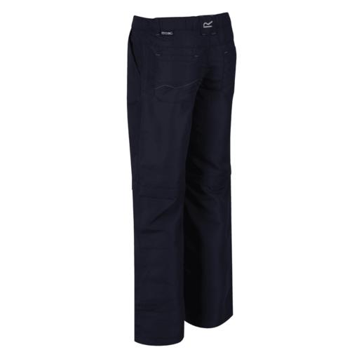 Regatta Kid's Sorcer Zip Off Hiking Trousers – Navy