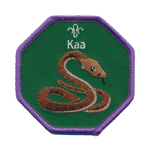 Cubs Kaa Fun Badge