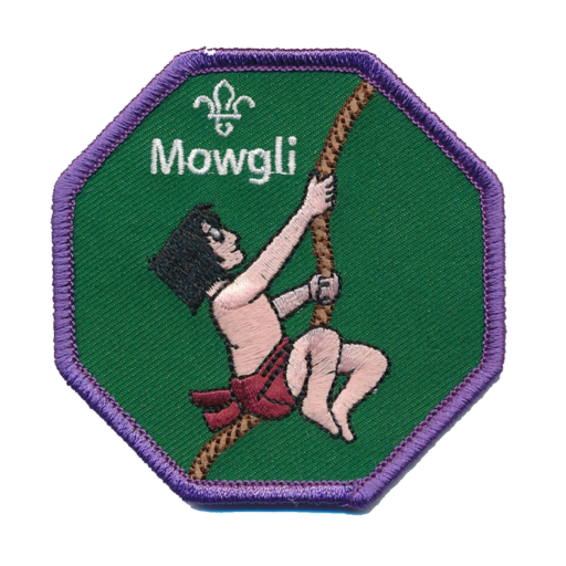 Cubs Mowgli Fun Badge