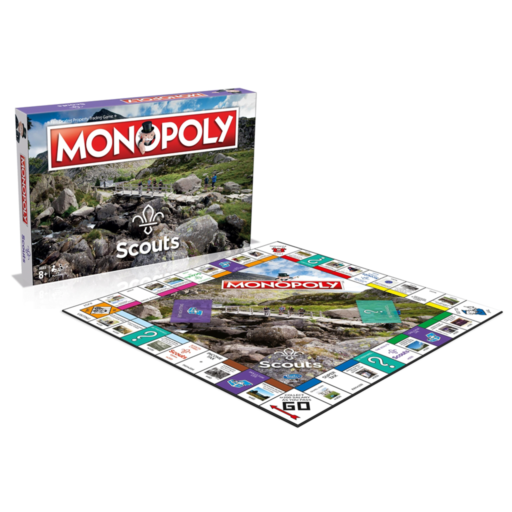 Scouts Monopoly Board Game Scouting Gift