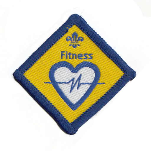 Beavers Fitness Challenge Award Badge (Pre 2009 Collection)