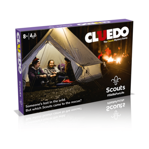 Scouts Cluedo Board Game Scouting Gift