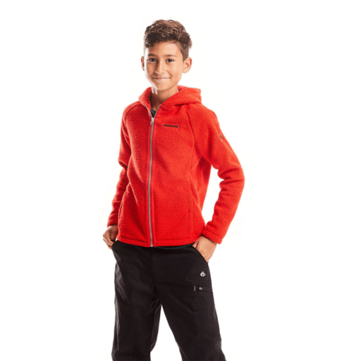 Craghoppers Kid's Brizio Jacket – Aster Red