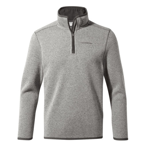 Craghoppers Kid's Leondro Half Zip – Soft Grey Marl