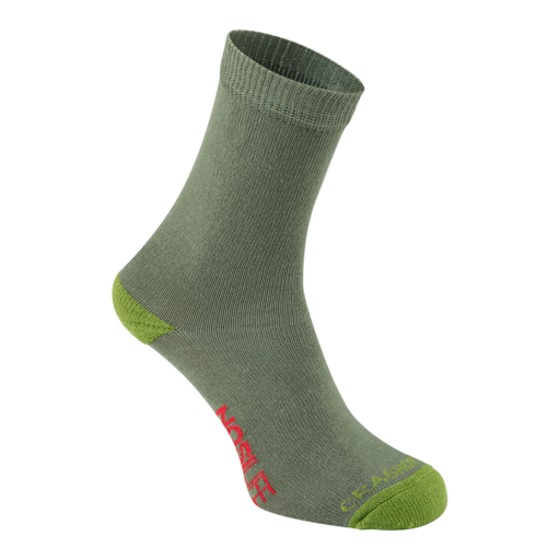 Craghoppers Kid's NosiLife Travel Sock – Dark Khaki