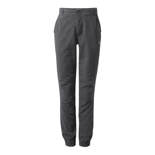 Craghoppers Boy's NosiLife Terrigal Trousers – Black Pepper