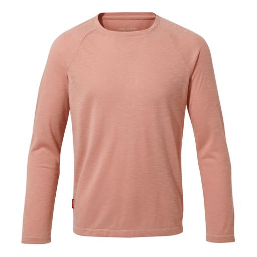 Craghoppers Girl's NosiLife Paola Long Sleeved T-Shirt – Rosette Slub
