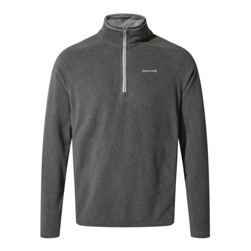 Craghoppers Men's Corey V Half Zip – Black Pepper Marl