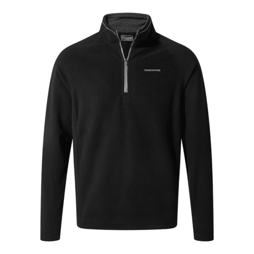 Craghoppers Men's Corey V Half Zip – Black